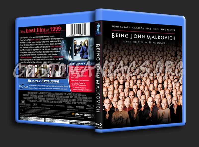 Being John Malkovich blu-ray cover