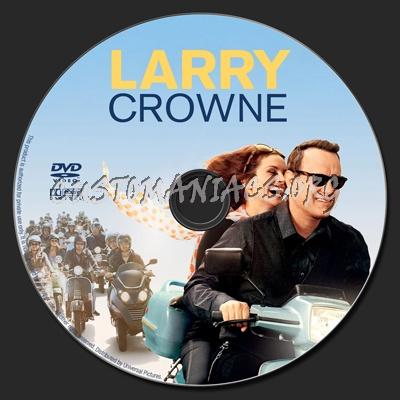 Larry Crowne dvd label