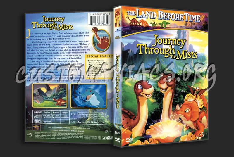 The Land Before Time  Journey Through the Mists dvd cover
