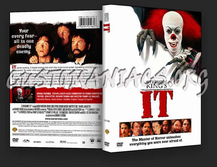 Stephen King's IT dvd cover