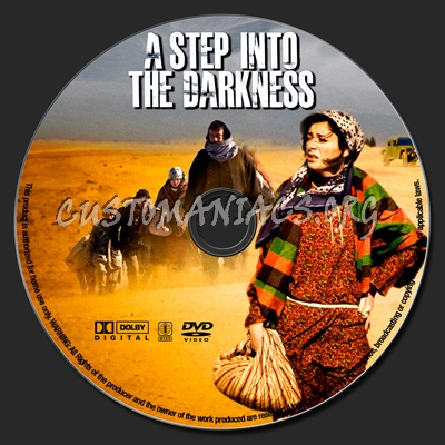 A Step Into The Darkness dvd label
