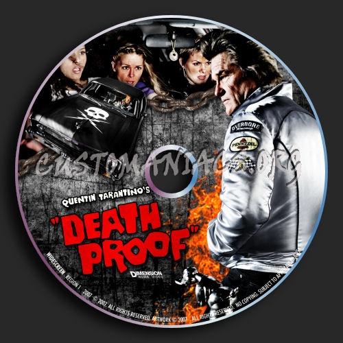 Death Proof dvd label