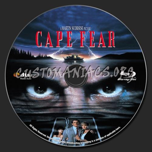 Cape Fear (1991) blu-ray label