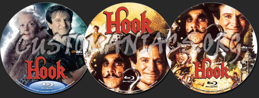 Hook blu-ray label