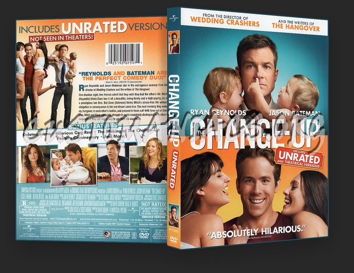 Change Up Dvd Cover