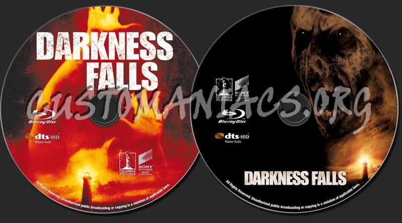 Darkness Falls blu-ray label