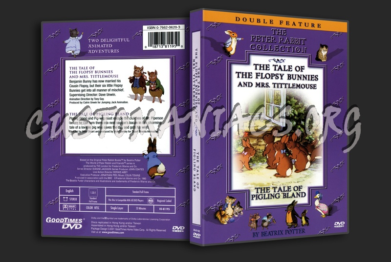 The Peter Rabbit Col. Tale of Flopsy Bunnies & Mrs Tittlemouse Tale of Pigling Bland dvd cover