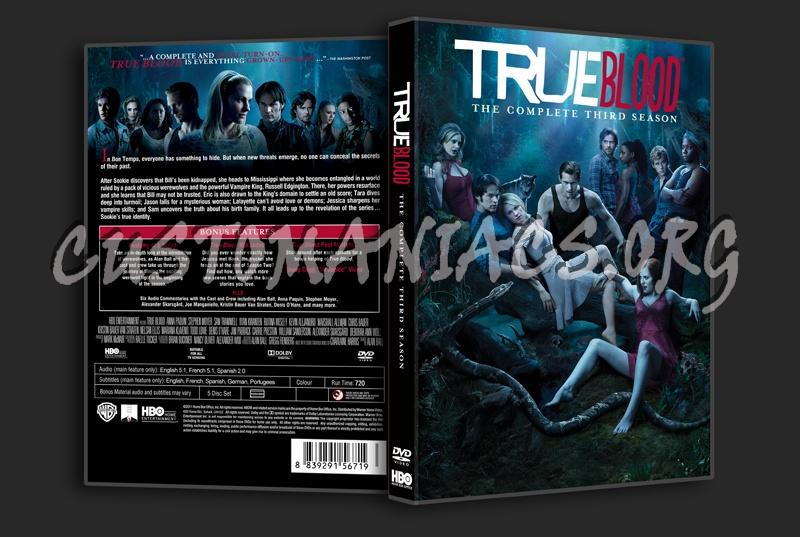 True Blood Season 3 dvd cover