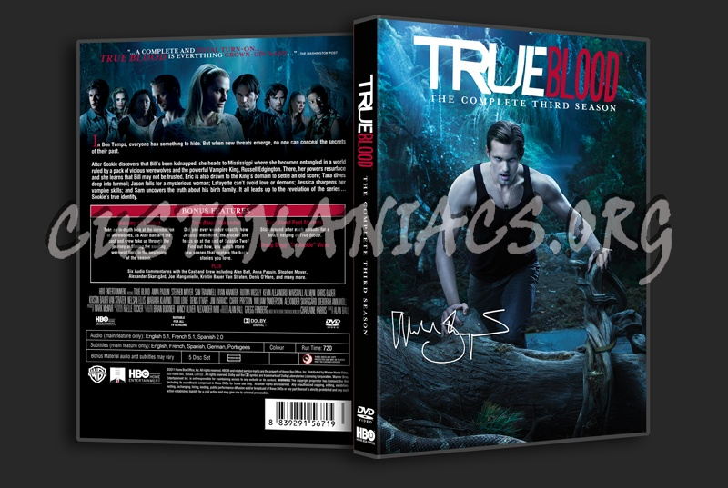True Blood Season 3 dvd cover