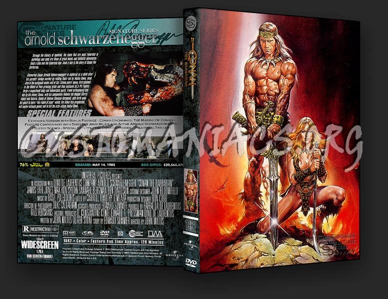 Conan the Barbarian dvd cover