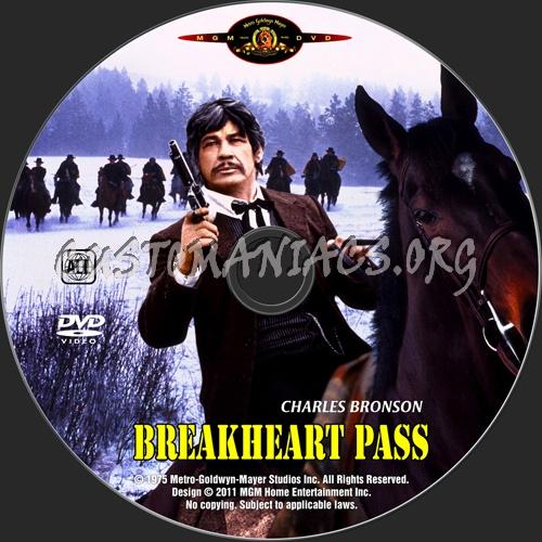 Breakheart Pass dvd label
