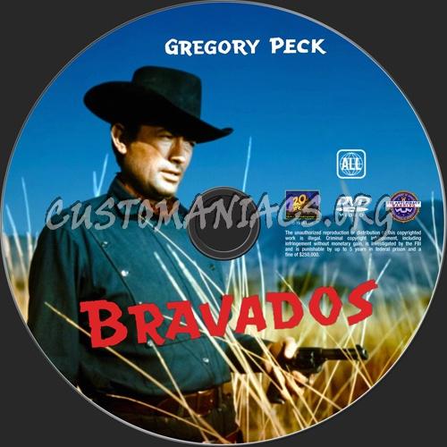 Bravados dvd label