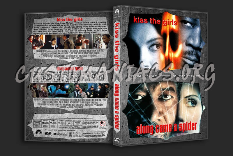 Kiss the Girls / Along Came a Spider Double dvd cover