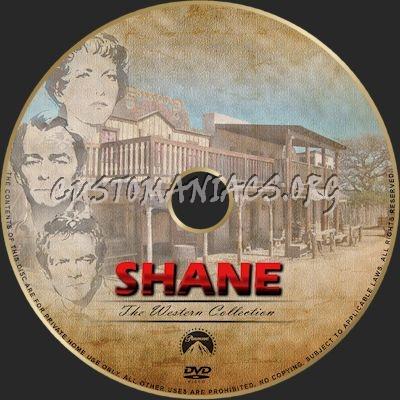 Shane dvd label