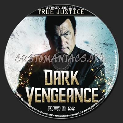 Dark Vengeance dvd label