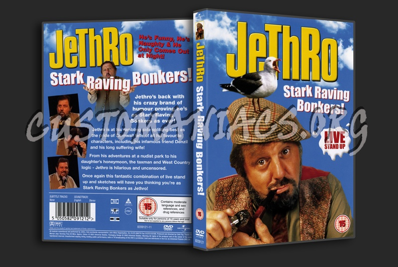 Jethro Stark Raving Bonkers! dvd cover