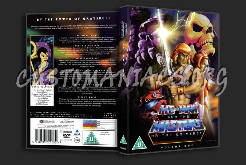 He-Man and the Masters of the Universe Volume 1 dvd cover