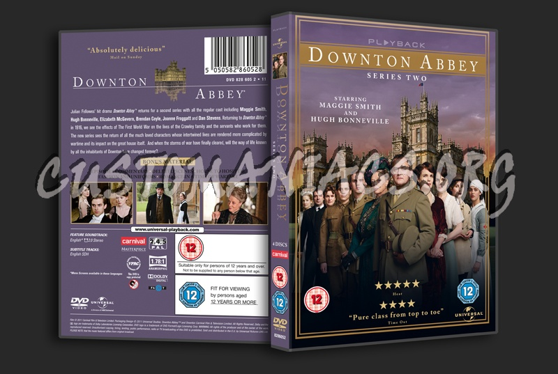 Downton Abbey Series 2 dvd cover