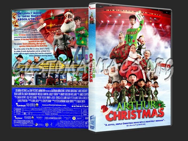 arthur christmas 2011 dvd cover - Arthur Christmas Dvd