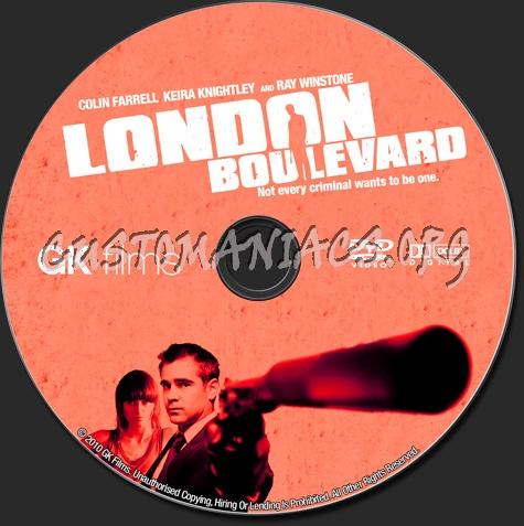 London Boulevard dvd label