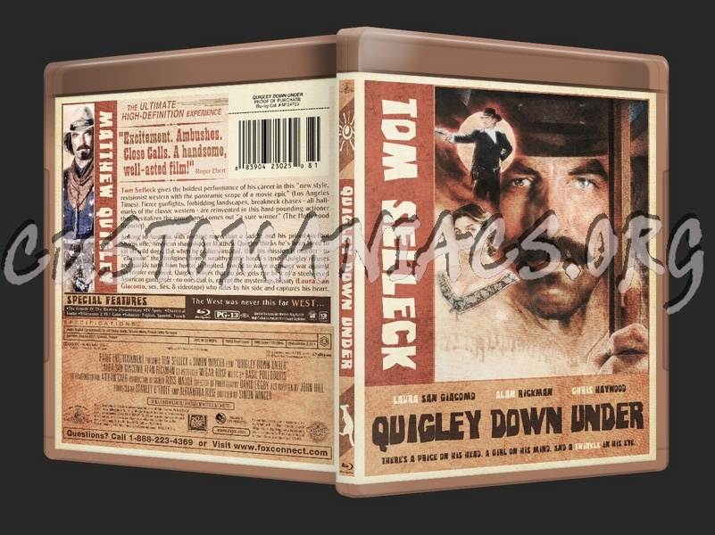 Quigley Down Under blu-ray cover