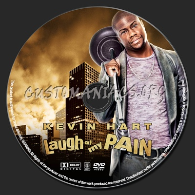 Kevin Hart Laugh At My Pain dvd label