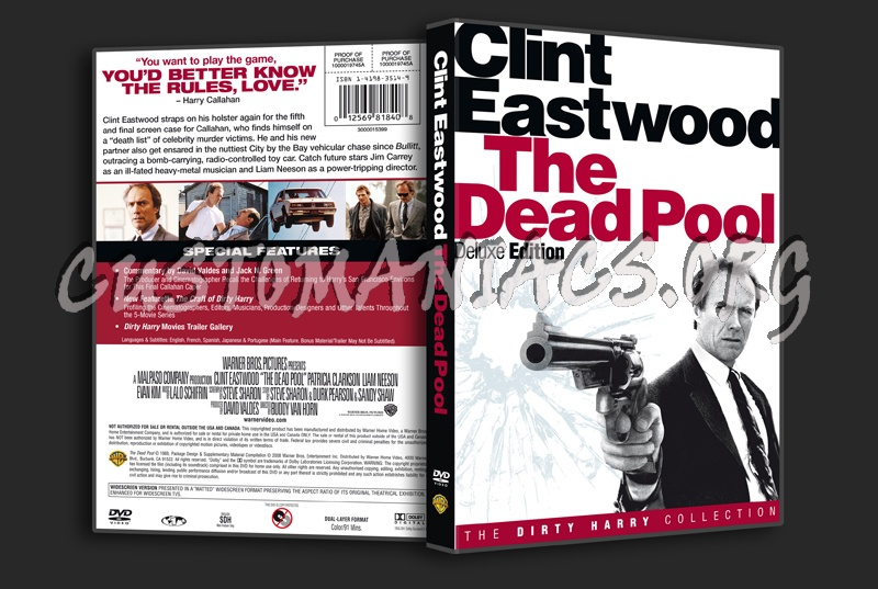 The Dead Pool dvd cover