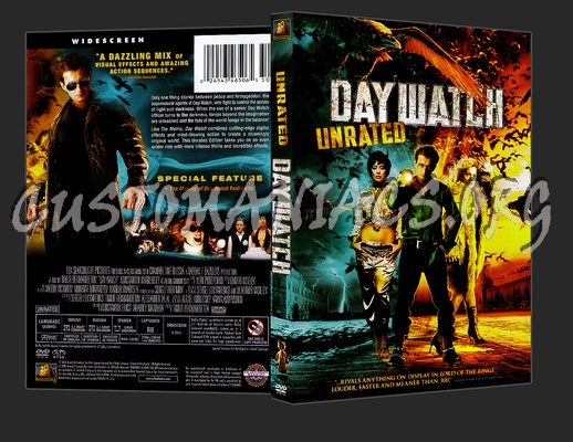 Day Watch dvd cover