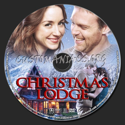 The Christmas Lodge.Christmas Lodge Dvd Label Dvd Covers Labels By