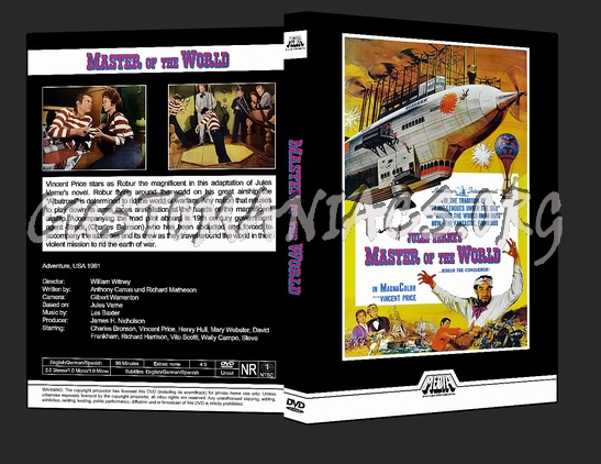 Master of the World dvd cover
