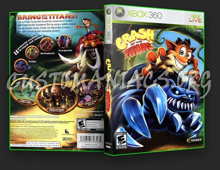 Crash Of The Titans dvd cover