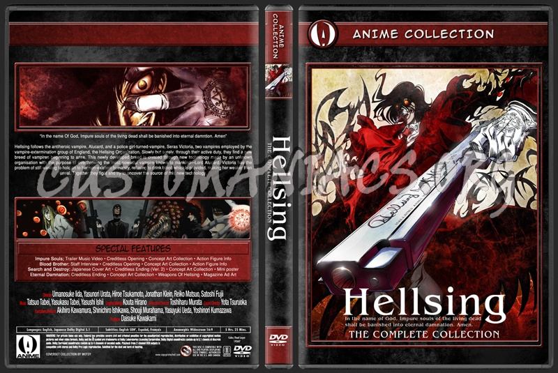 Anime Collection Hellsing dvd cover