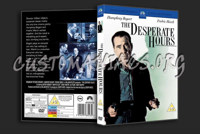The Desperate Hours dvd cover