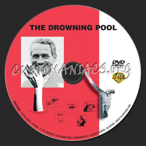 The Drowning Pool dvd label