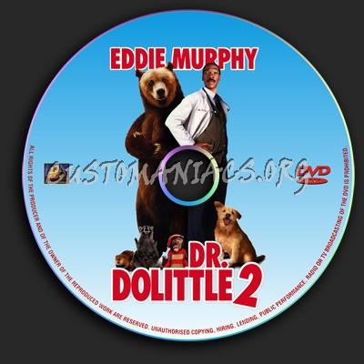 Dr. Dolittle 2 dvd label