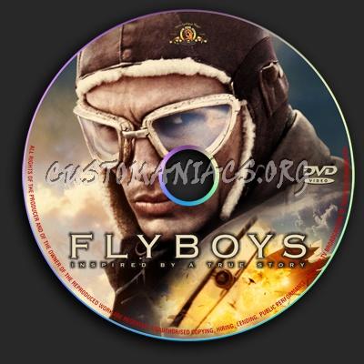 Flyboys dvd label
