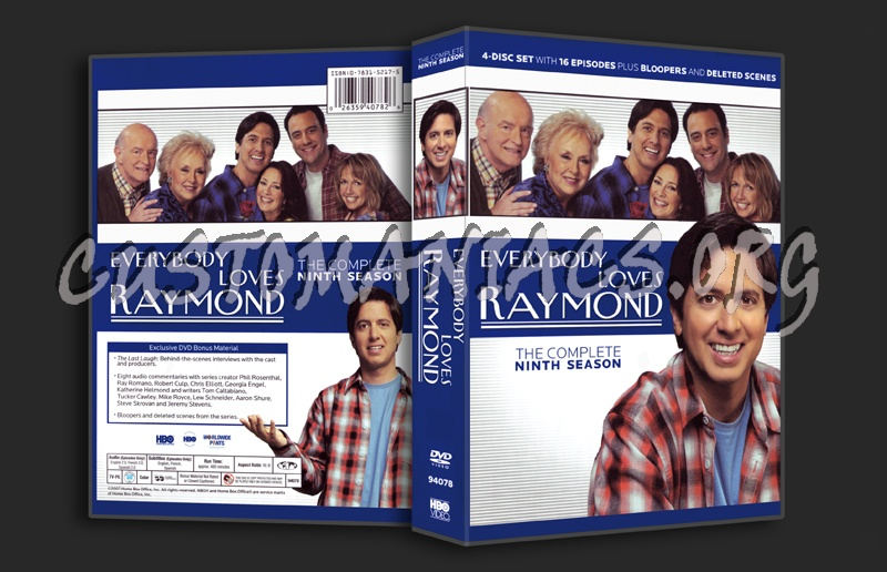 Everybody Loves Raymond Season 9 dvd cover