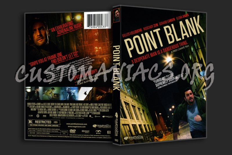 Point Blank dvd cover - DVD Covers & Labels by Customaniacs, id