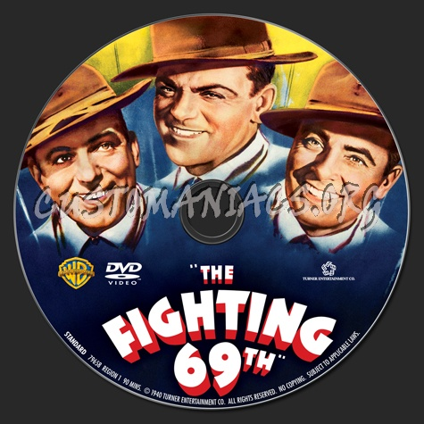 The Fighting 69th dvd label