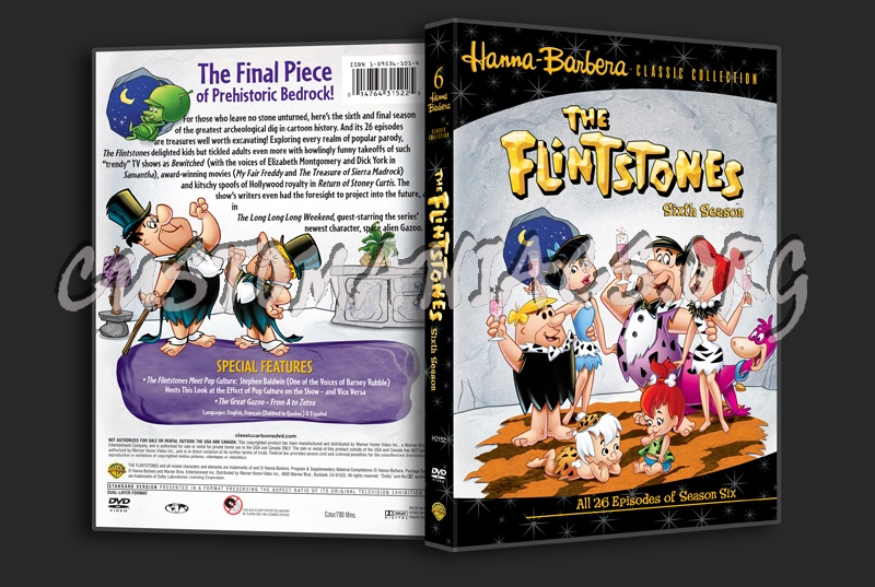 The Flintstones Season 6 dvd cover