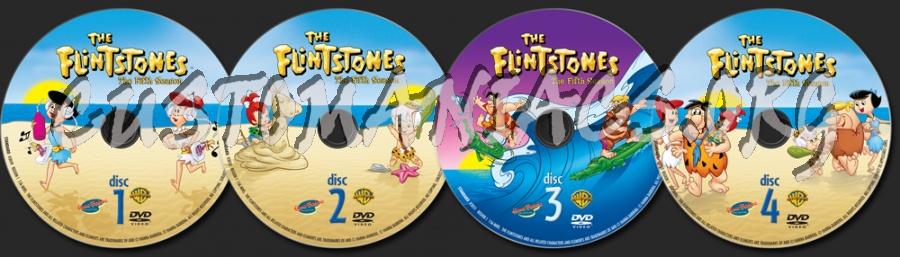 The Flintstones Season 5 dvd label