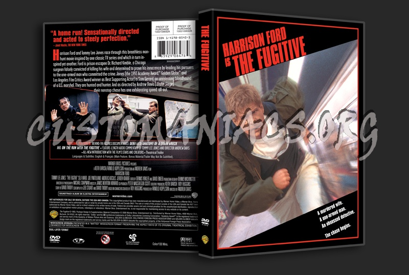 The Fugitive dvd cover