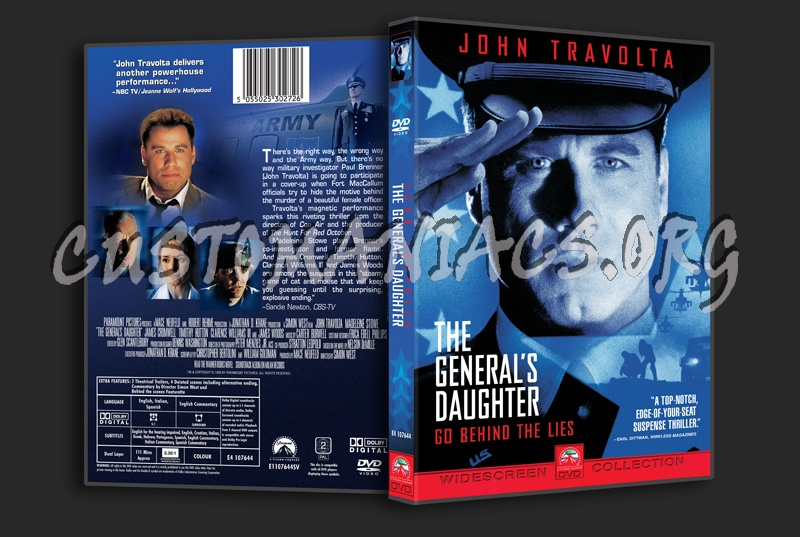 The General's Daughter dvd cover