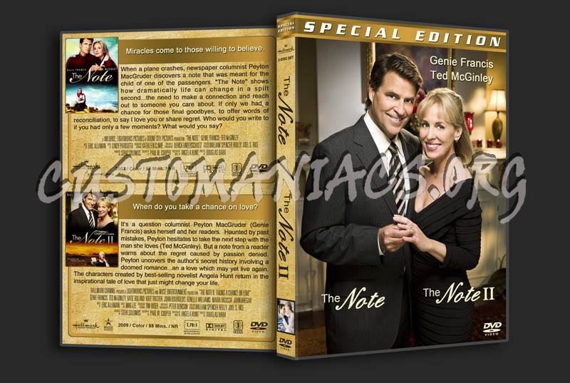 The Note Double Feature dvd cover