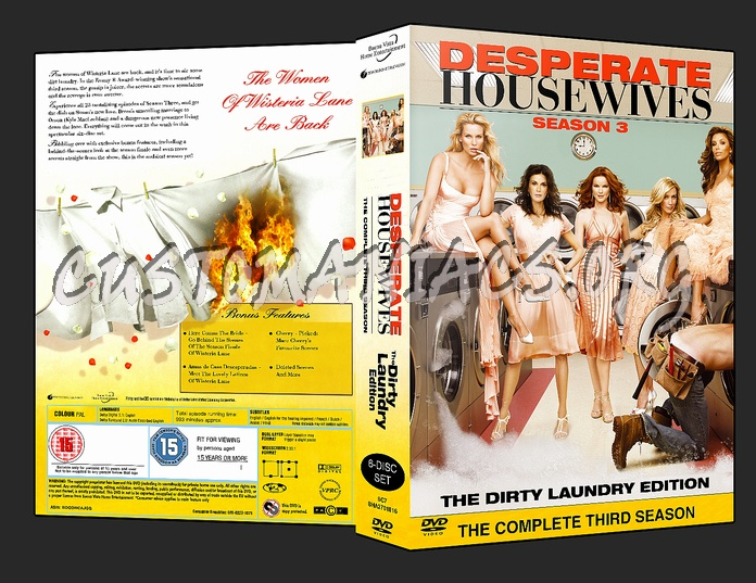 Desperate Housewives Season 3 dvd cover