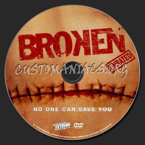 Broken dvd label