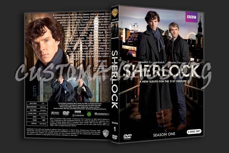 Sherlock: Season 1 dvd cover - DVD Covers & Labels by Customaniacs