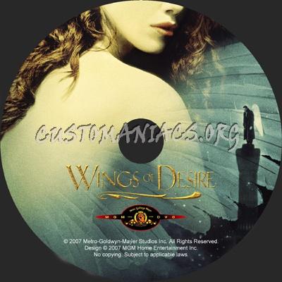 Wings of Desire dvd label