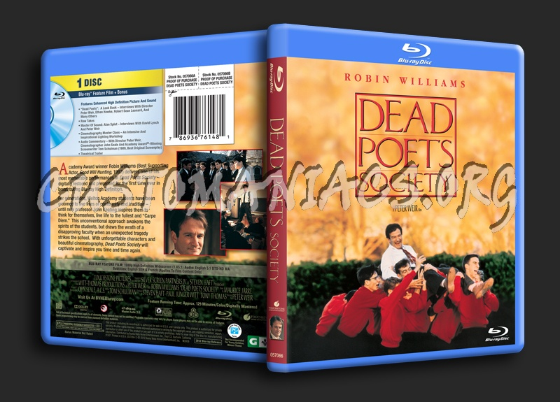 Amazon. Com: dead poets society [vhs]: robin williams, robert sean.