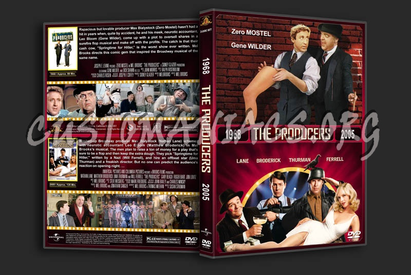 The Producers Double Feature dvd cover
